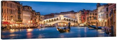 Rialto Bridge Panorama Canvas Art Print