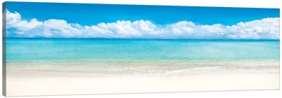 Beach Panorama, Bora Bora, French Polynesia Canvas Art Print
