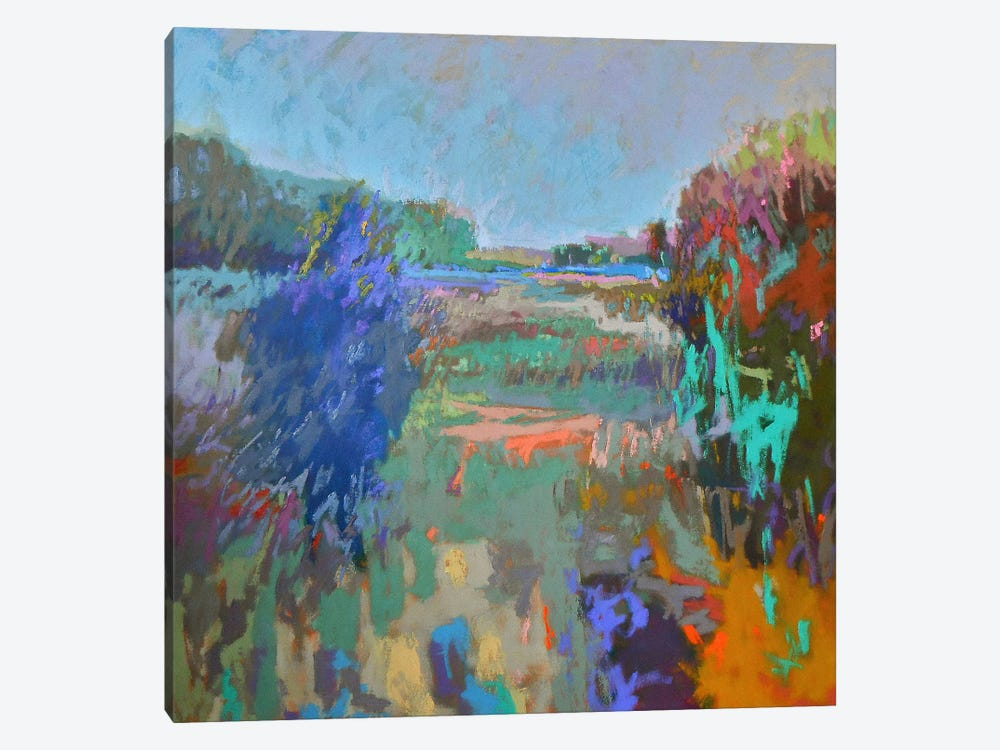 Color Field 45 by Jane Schmidt 1-piece Canvas Print