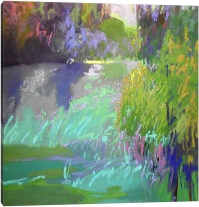 Flowing Through Canvas Art Print