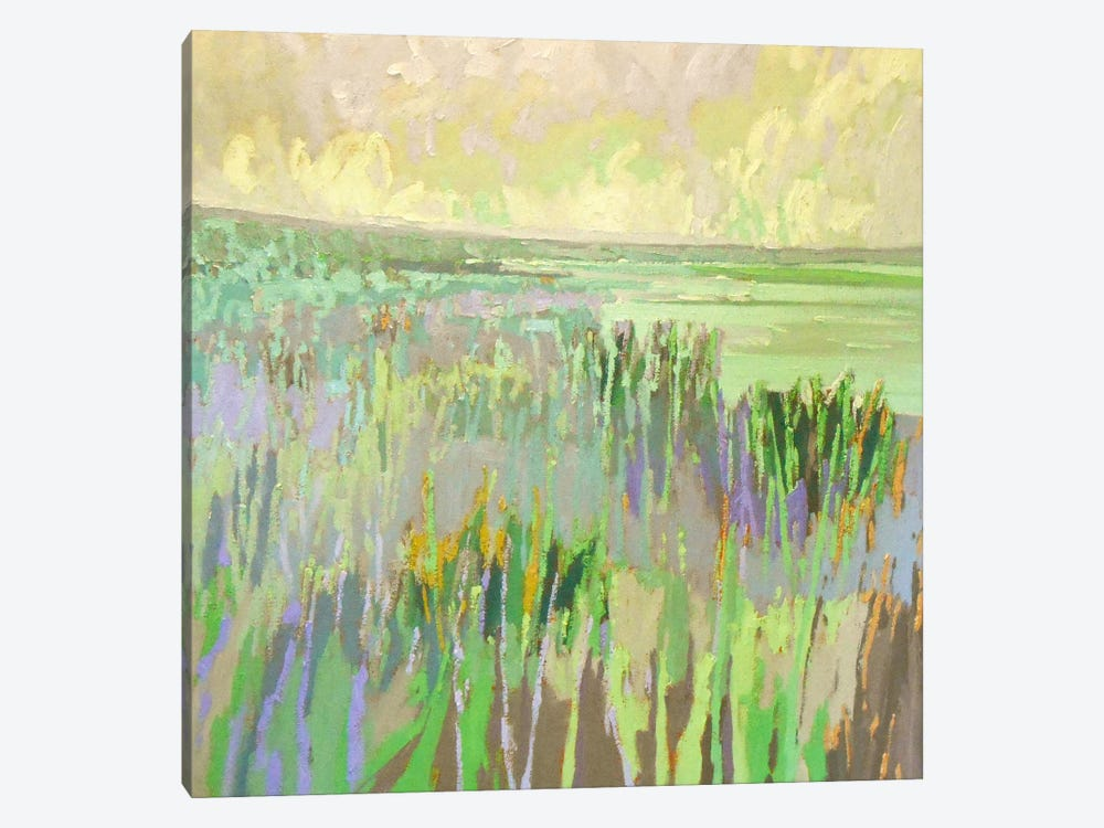Lake Shore III by Jane Schmidt 1-piece Canvas Art