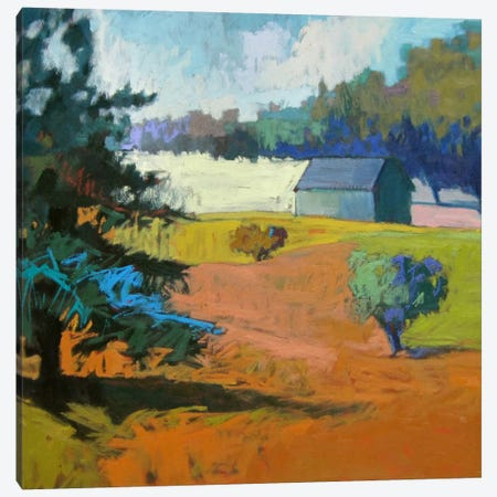 Paysage Cinq 3-Piece Canvas #JNE17} by Jane Schmidt Canvas Wall Art