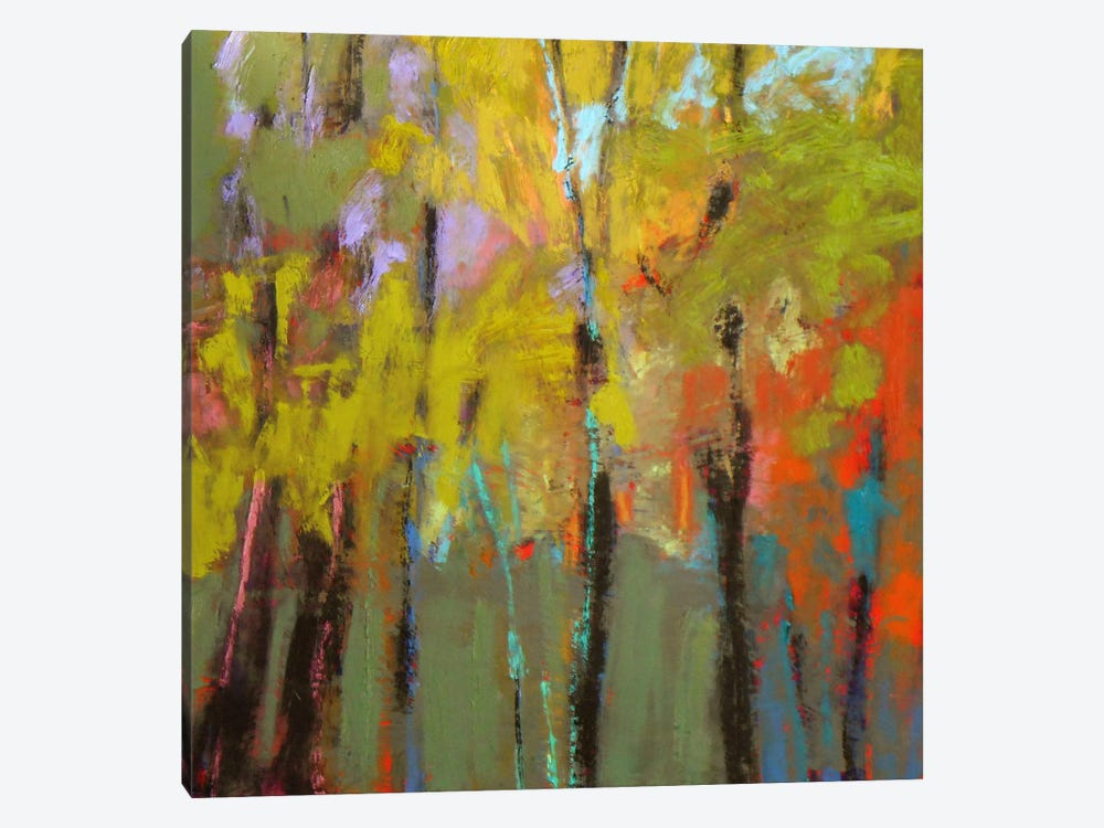 Trees III 1-piece Canvas Art