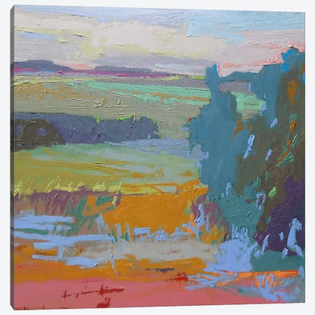 View I Canvas Print #JNE21} by Jane Schmidt Canvas Artwork