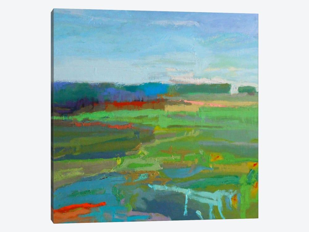 Vinalhaven V by Jane Schmidt 1-piece Canvas Artwork
