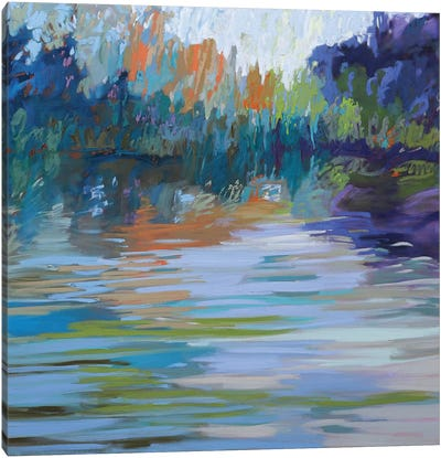 Waterways VI Canvas Art Print