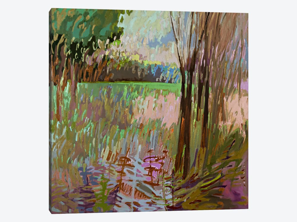 View From The Roadside by Jane Schmidt 1-piece Canvas Artwork