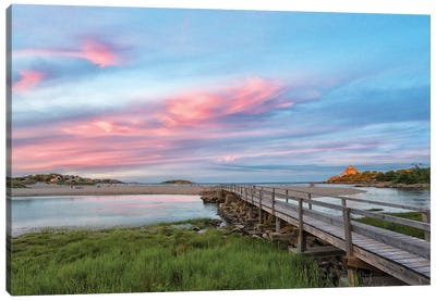Good Harbor Beach, Gloucester, Massachusetts, USA. Canvas Art Print