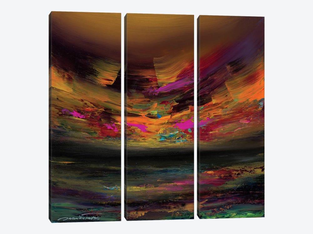Sanctuary by Jaanika Talts 3-piece Canvas Wall Art