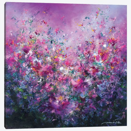 Spring Symphony 3-Piece Canvas #JNI14} by Jaanika Talts Canvas Artwork