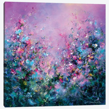 Through Rose-Colored Glasses Canvas Print #JNI16} by Jaanika Talts Canvas Wall Art