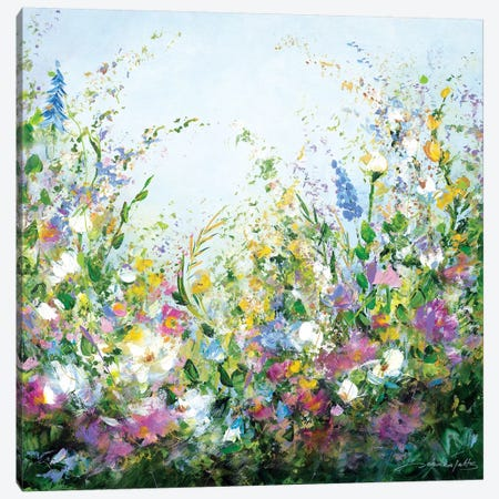 A Perfect Day Canvas Print #JNI1} by Jaanika Talts Canvas Wall Art