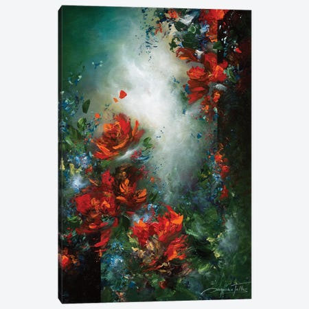 Passionately Yours Canvas Print #JNI20} by Jaanika Talts Canvas Art