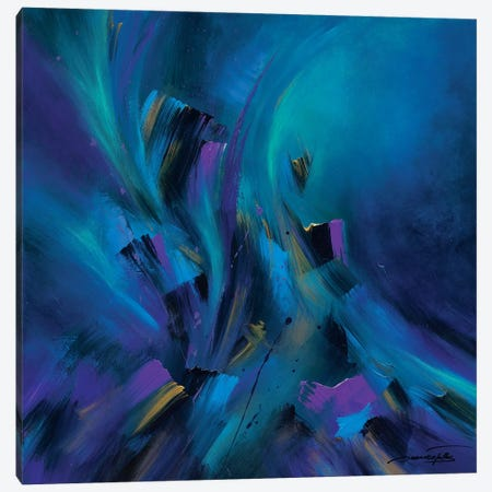 Aurora Rising Canvas Print #JNI3} by Jaanika Talts Canvas Wall Art