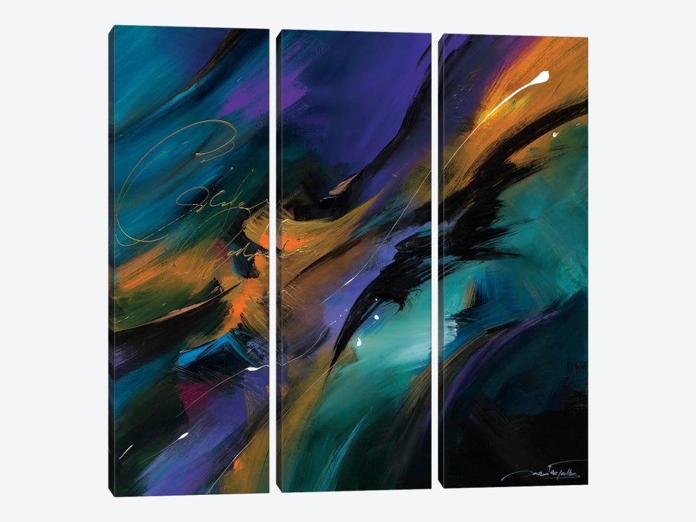 Clair de Lune by Jaanika Talts 3-piece Canvas Art