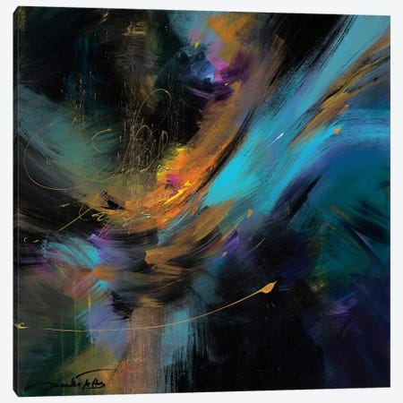 Embrace The Night 3-Piece Canvas #JNI6} by Jaanika Talts Art Print