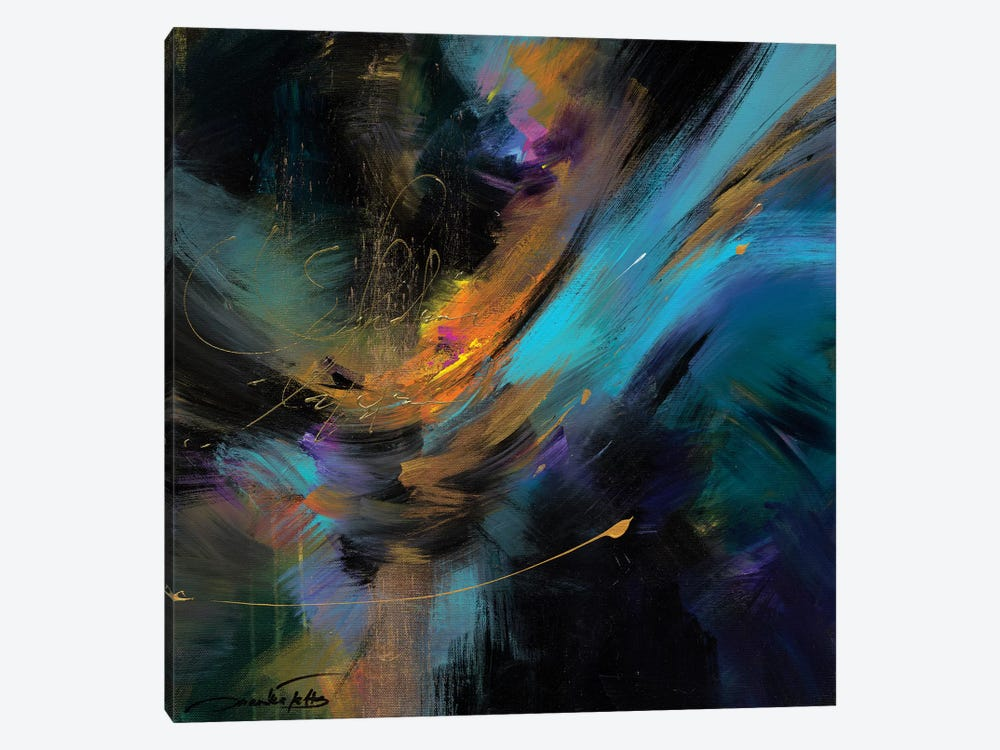 Embrace The Night by Jaanika Talts 1-piece Canvas Art