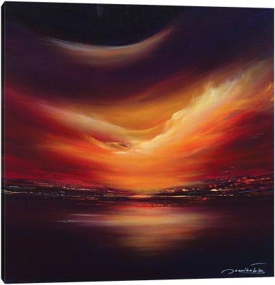 Gold Sky Canvas Art Print
