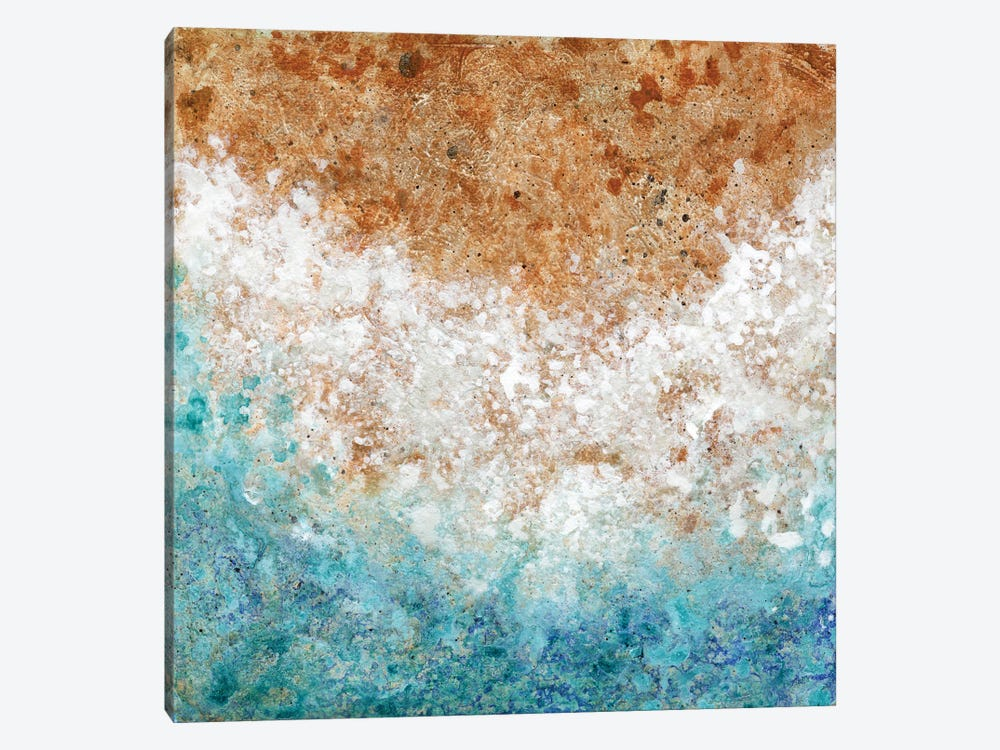 A Shore Welcome by Janet Nelson 1-piece Canvas Artwork