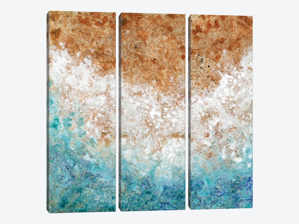 A Shore Welcome by Janet Nelson 3-piece Canvas Artwork