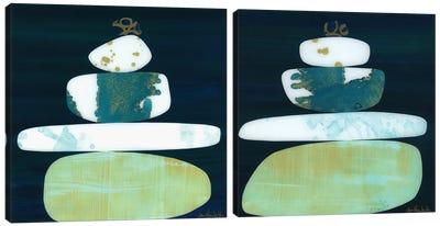 Calm Diptych Canvas Art Print