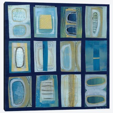 Block Study IV Canvas Print #JNM30} by Jane Monteith Art Print