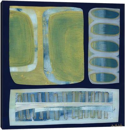 Blue Ochre I Canvas Art Print