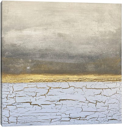 Golden Horizon Canvas Art Print
