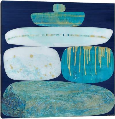 Blue Ice II Canvas Art Print