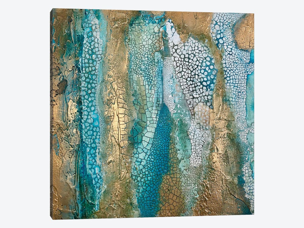 Waterfall by Jane Monteith 1-piece Canvas Art
