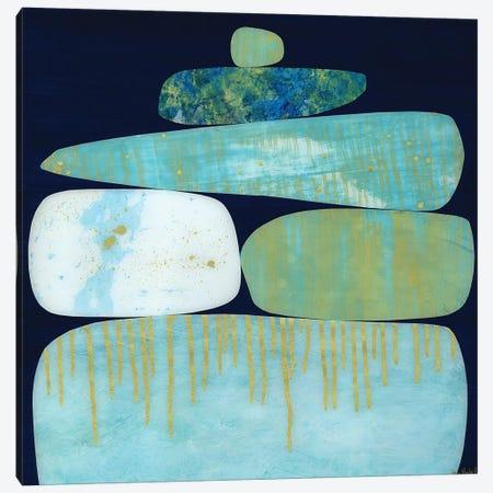 Blue Pinnacle I Canvas Print #JNM5} by Jane Monteith Art Print
