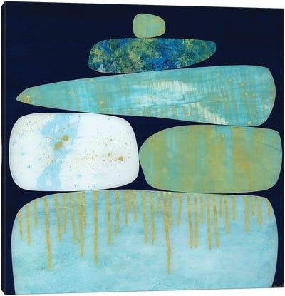 Blue Pinnacle I Canvas Art Print