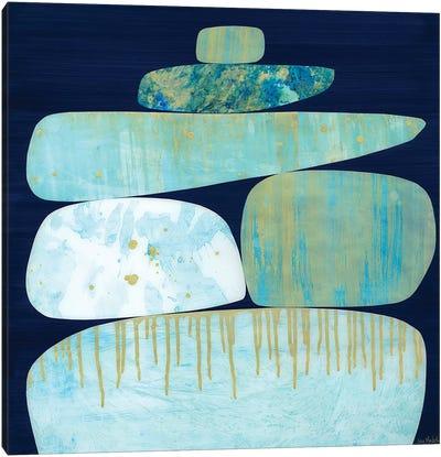 Blue Pinnacle II Canvas Art Print