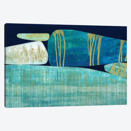 Blue Ridge Canvas Print #JNM7} by Jane Monteith Art Print