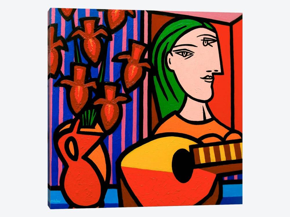 Homage To Picasso #2 by John Nolan 1-piece Art Print