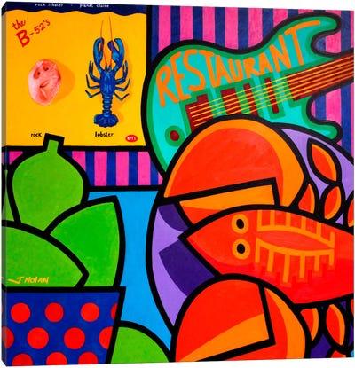 Homage To Rock Lobster Canvas Print #JNN14