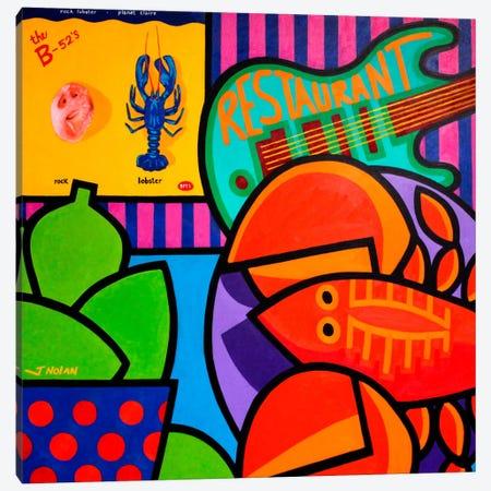 Homage To Rock Lobster Canvas Print #JNN14} by John Nolan Canvas Print
