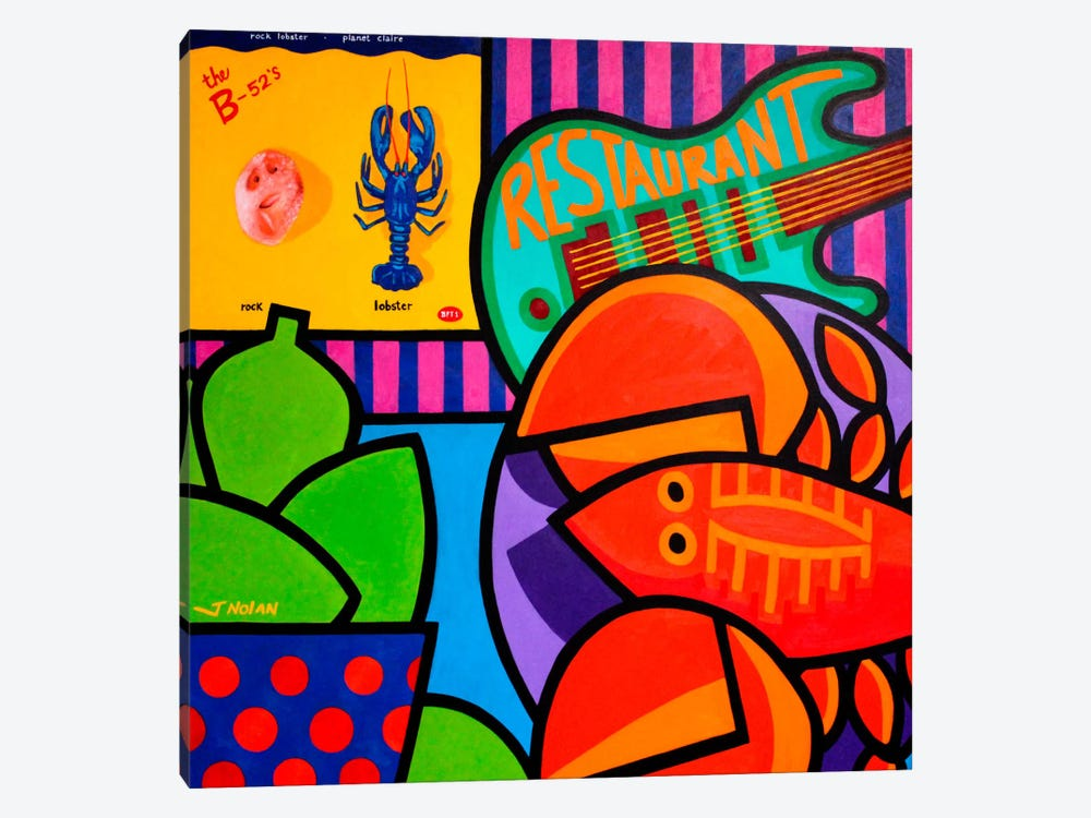 Homage To Rock Lobster by John Nolan 1-piece Canvas Wall Art