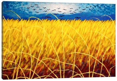 Homage To Van Gogh #1 Canvas Art Print