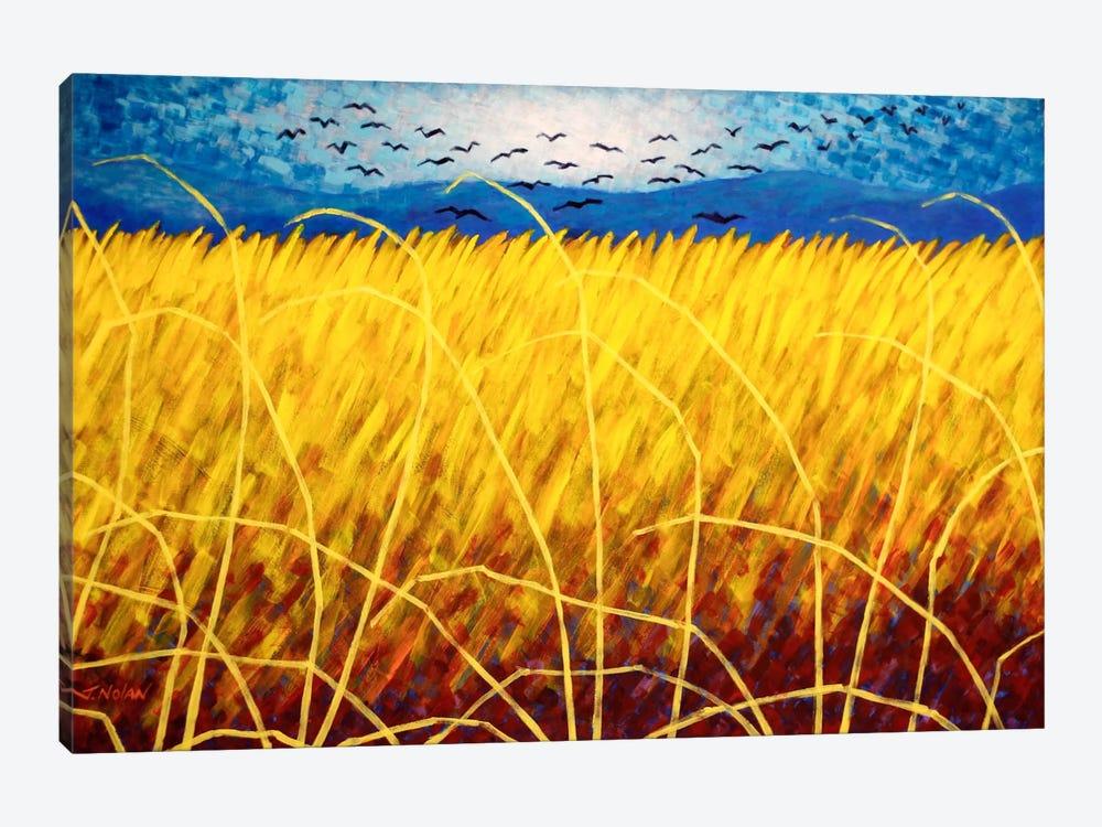 Homage To Van Gogh #1 by John Nolan 1-piece Art Print