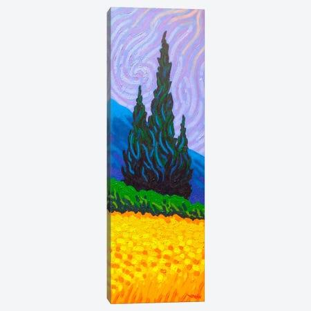 Homage To Van Gogh #2 Canvas Print #JNN16} by John Nolan Canvas Print