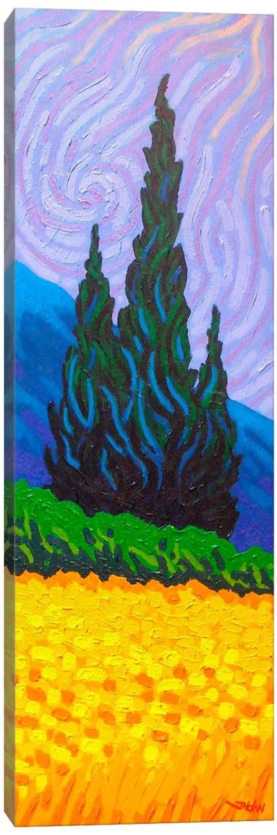 Homage To Van Gogh #2 Canvas Art Print
