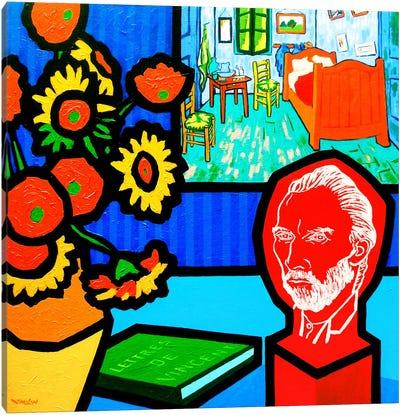 Homage To Van Gogh #3 Canvas Print #JNN17