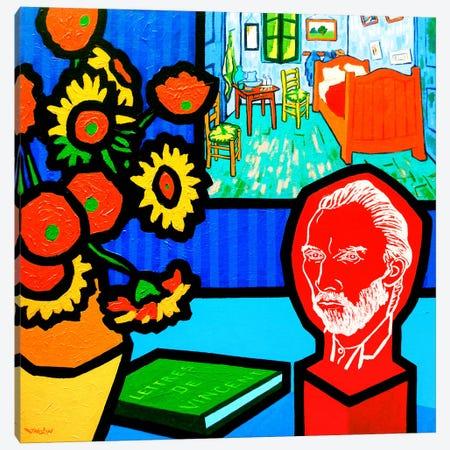Homage To Van Gogh #3 Canvas Print #JNN17} by John Nolan Canvas Print