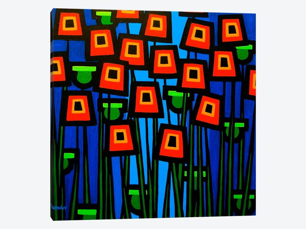 Night Poppies by John Nolan 1-piece Art Print