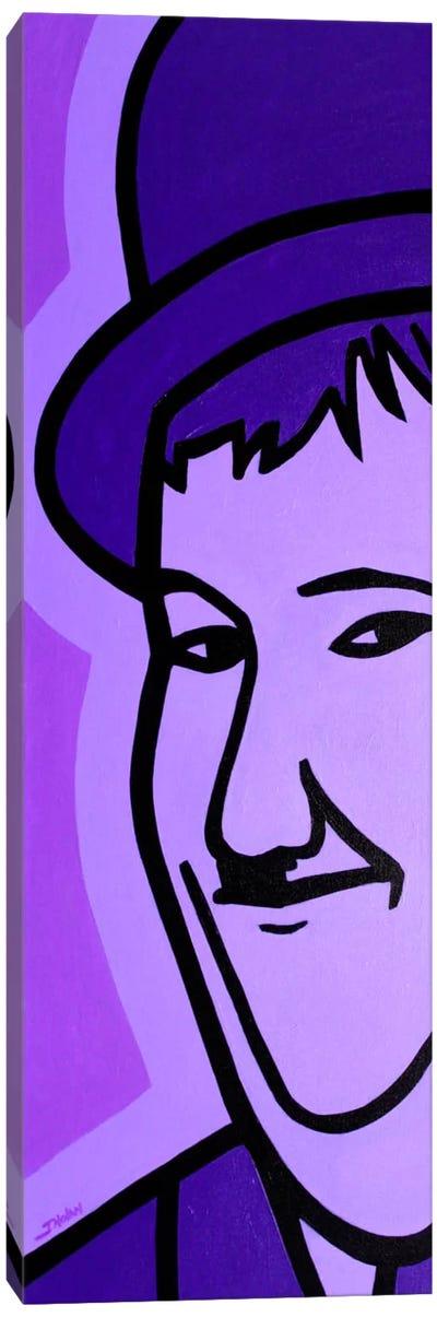 Oliver Hardy Canvas Print #JNN23