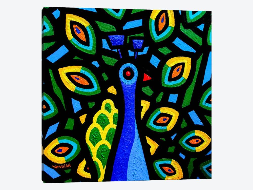 Peacock #2 by John Nolan 1-piece Canvas Art