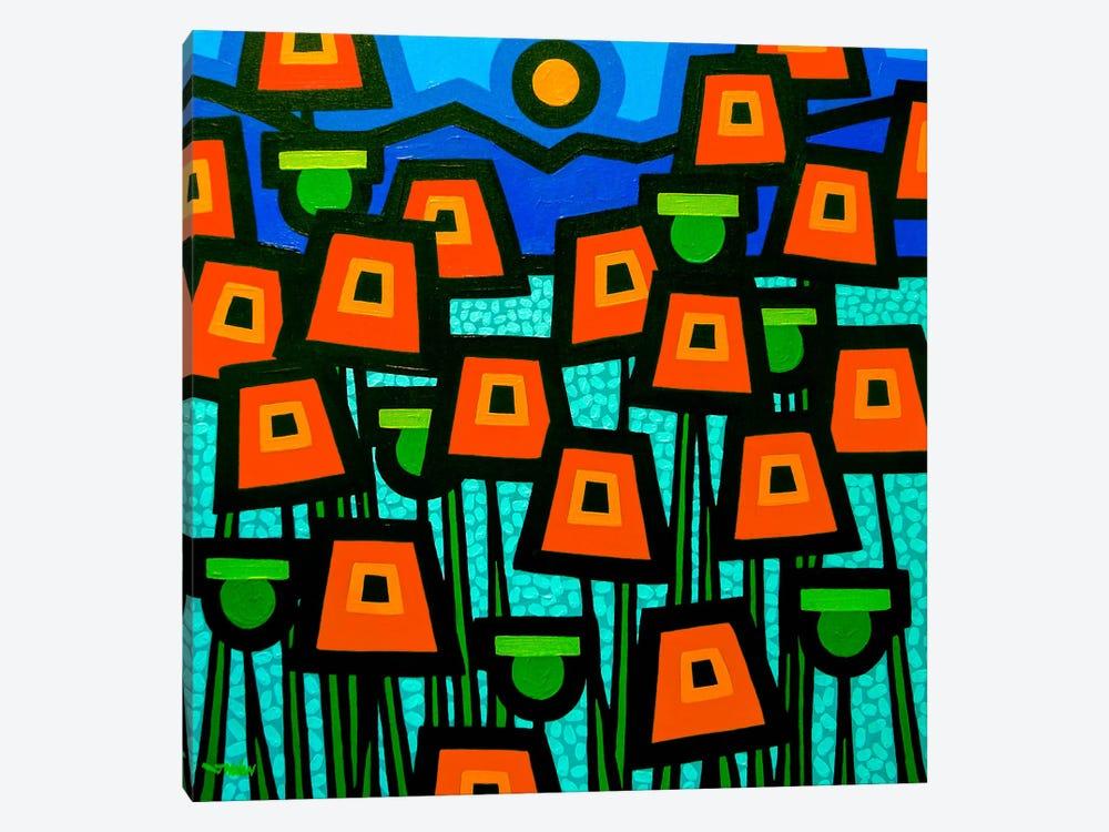 Poppy Field by John Nolan 1-piece Canvas Art Print