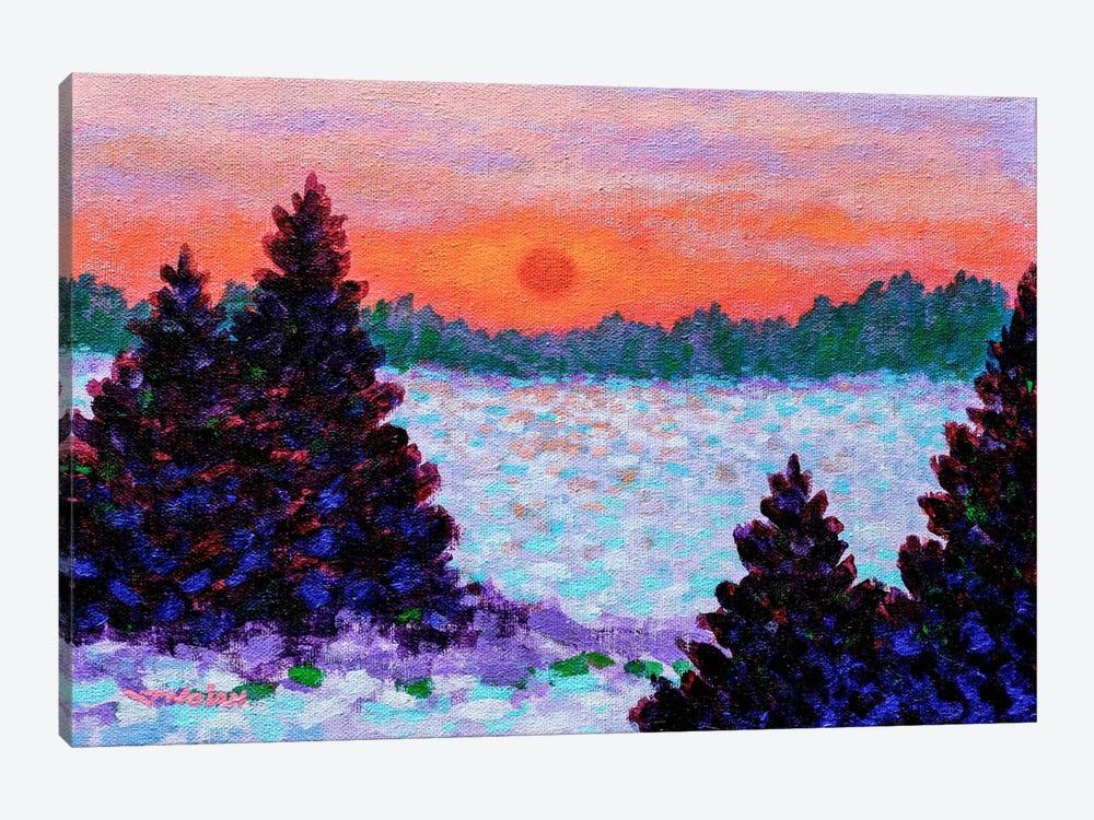 Snowscape by John Nolan 1-piece Canvas Wall Art