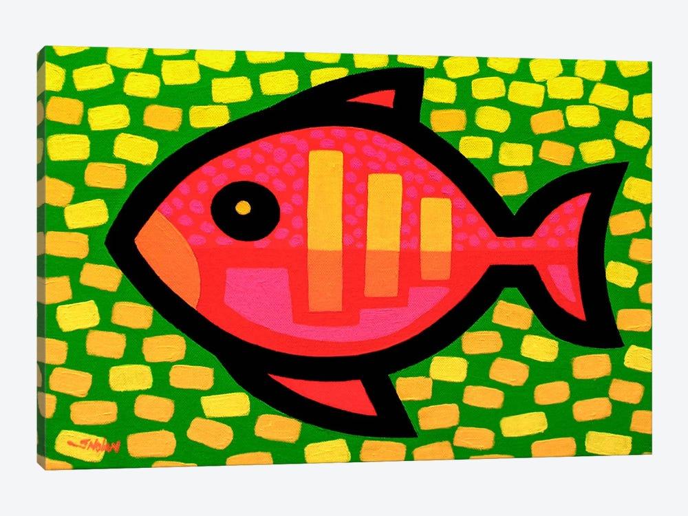 Big Fish by John Nolan 1-piece Canvas Art Print